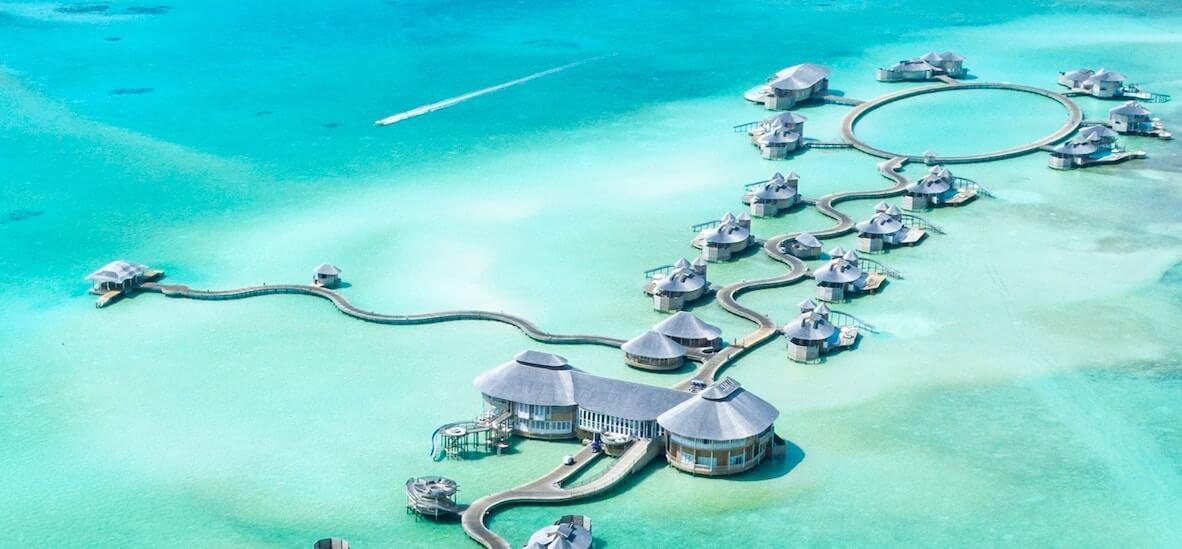 1島1リゾートの風景