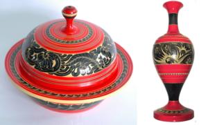 モルディブ土産の伝統的デザイン