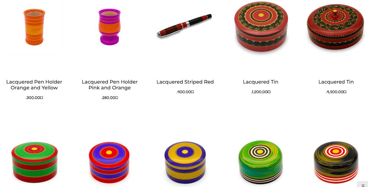 モルディブ伝統工芸品ラージェフン