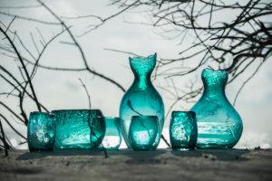 ソネバフシのガラス作品